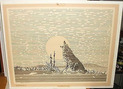 $ CDN140.75 • Buy James Pollock South Dakota Coyote Limited Signed Lithograph