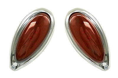 $62.95 • Buy Empi  Vw Bug Buggy Red Teardrop Tail Lights, Pair  9490
