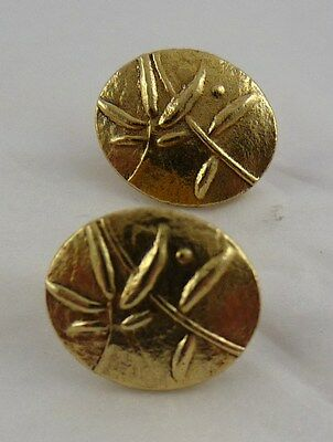 Ola Gorie 9ct Yellow Gold Eve Earrings Boxed Scottish • 261£