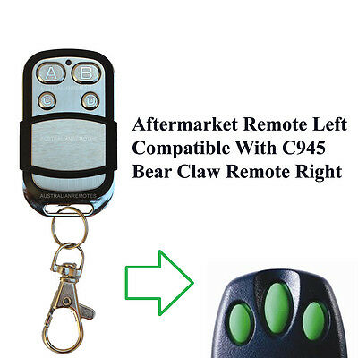 AU26.99 • Buy Garage Door Remote Control Compatible In MR850 MR1000 MT5580 MT5580P MT60 MT60P