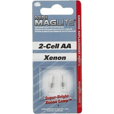 (6) 2 Pks. Replacement Bulb For Mini Mag-Lite And Solitaire Light LM2A001 • 14.97£
