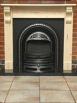 £105 • Buy Fire Surround With Corbels /pine Mantel Solid Pine Wooden We Do Made To Measure