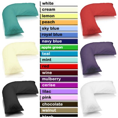 £3.75 • Buy V Shaped Pillow Case Cover - Pregnancy Maternity Orthopaedic Support Nursing