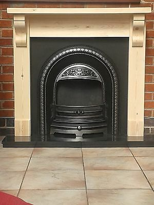 £110 • Buy Fire Surround With Corbels With 45mm Chunky Top  /   Plus Made To Measure Wooden