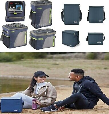 £11.95 • Buy Genuine Thermos Cooler Cooling Navy Bag Cool Box Insulated Camping Food Storage