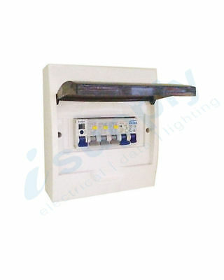 AU93.99 • Buy COMPLETE 8 Pole Distribution Board Switchboard Safety RCD Main MCB Way 8p RCBO