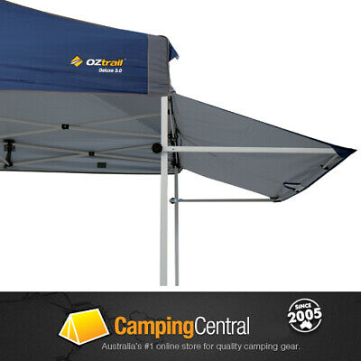 AU69.99 • Buy Oztrail Removable Awning (blue) 3m Kit Deluxe Gazebo Awning