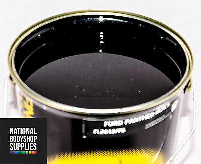 1l Ford Panther Black Basecoat Metallic Pearl Paint Ready For Use / Rfu • 13.99£