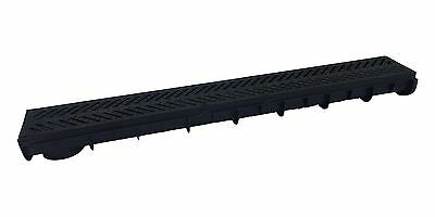 £139.99 • Buy Multi Pack 5 Heavy Duty Plastic Drainage Channel With Plastic Grating Made In Uk
