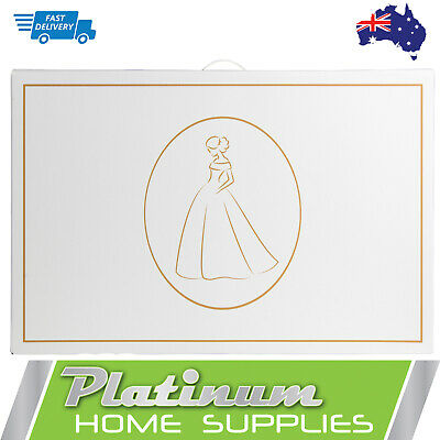 AU39.70 • Buy Wedding Dress Storage Box Large Bridal Preservation Travel Tissue Bridesmaid Box
