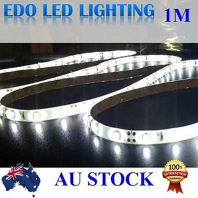 AU8.99 • Buy 0.5/ 1 /2 Meter 3528 12V DC LED Strip Lights Cool White SMD 60LEDS Waterproof
