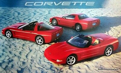 $20.99 • Buy 2002 Original Dealer Showroom Chevy Corvette Z06 Coupe Convertible Poster