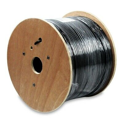 AU114.09 • Buy 400'FT Gel CAT6 OUTDOOR UNDERGROUND BURIAL CABLE WIRE WATERPROOF UV 23-AWG