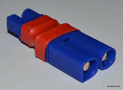 $6.99 • Buy (1) No Wires Connector: Male EC5 To Female EC3 Lipo Battery Adapter