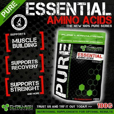 AU27.95 • Buy Essential Amino Acids Eaa 100g * Muscle Recovery * Bcaa * Protein * Bodybuilding