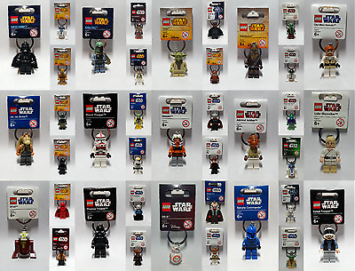 Brand New Lego - Star Wars Keyrings - BNWT - Rare --- LooK In Side ---> Free P&P • 8.95£