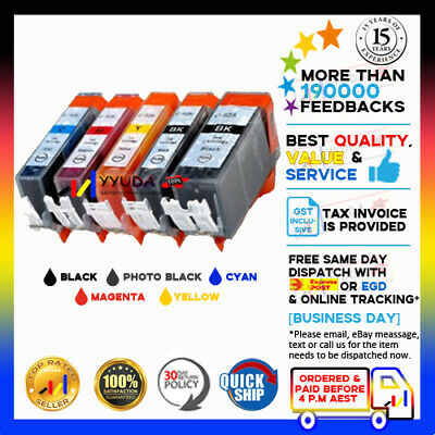 AU10 • Buy 5x NoN-OEM Ink PGI525 CLI526 For Canon Pixma MG5350 IP4950 MG5150 IP4850 MX885