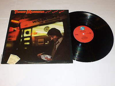 TOMMY MORRISON - Place Your Bets - 1979 UK Real Records 11-track Vinyl LP • 39.99£