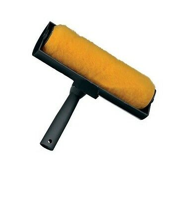 Paint Roller With 9  Shield Splatter Guard For Wall Ceiling Emulsion Painting  • 6.95£