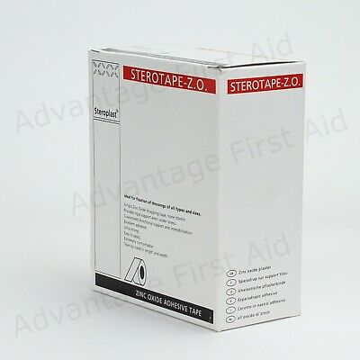 Zinc Oxide Sports Strapping Tape For Sports Injuries. Various Quantities & Sizes • 5.50£