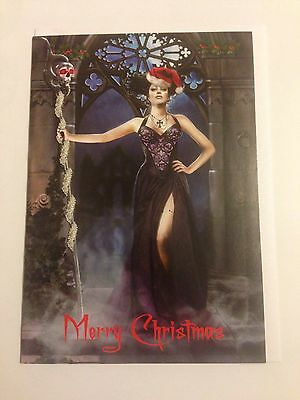 Gothic Themed Christmas Card #4 - NEW • 1£
