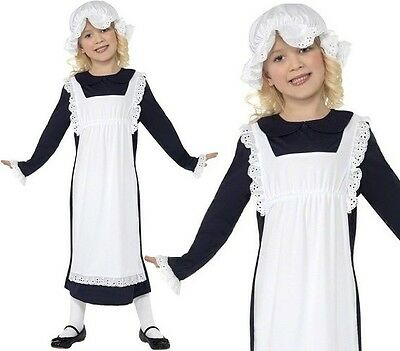 £9.35 • Buy Childrens Girls Poor Victorian Girl Fancy Dress Costume Childs Outfit By Smiffys