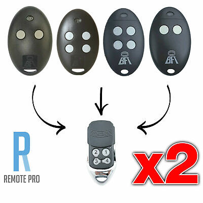 AU22.95 • Buy 2 X To Suit BFT Mitto 2M 4M 12V Compatible Garage/Gate Remote D111751 D111750