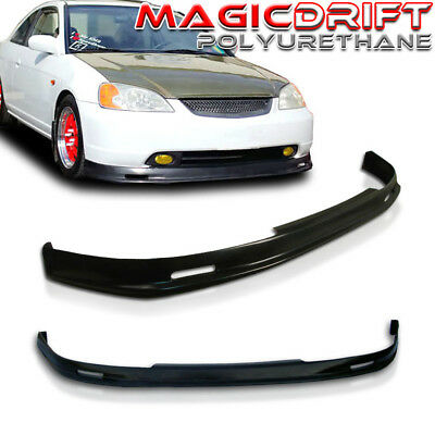 $66.88 • Buy NEW MU MUGN Front Bumper Lip Urethane Plastic For 01-03 Honda Civic 2DR Coupe