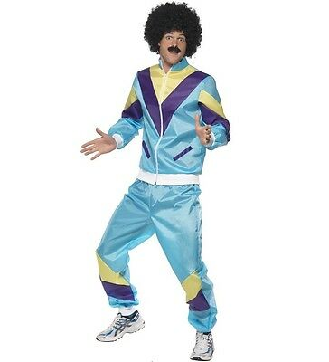 Mens 80s 1980s 80's Shell Suit Fancy Dress Costume Scouser Savile By Smiffys • 33.99£