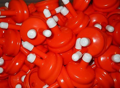 Standard Carboy Cap Orange New Type Fits Almost All 3-5-6 Gallon Plastic & Glass • 2.17£