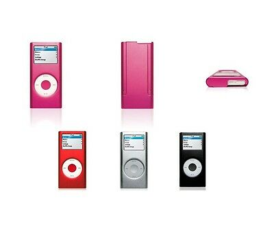 £5.02 • Buy For Apple IPod Nano 2nd Gen Aluminum Metal Hard Case Cover Screen Protector
