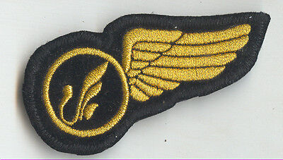 $65 • Buy MAHAN Air Iran Airlines Flight Attendant Wing Patch 1990s