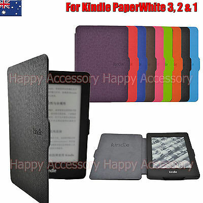 AU12.99 • Buy Ultra Slim Case Cover For Amazon Kindle Paperwhite 3,2,1