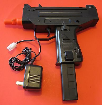 $35 • Buy UZI MAC 10 Auto Electric Airsoft Gun W/Rechargeable Battery & Battery Charger