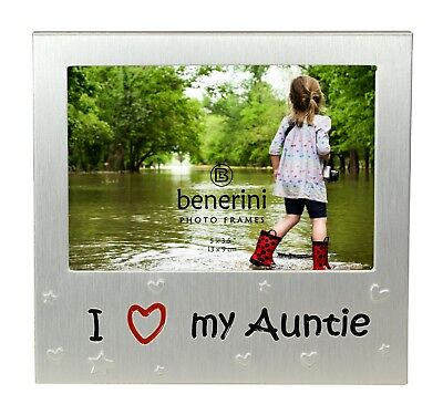 I Love My Auntie Photo Picture Frame Birthday Christmas Gift Idea For Auntie • 5.90£
