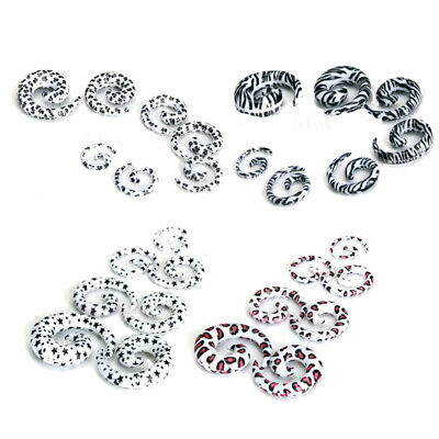 $7.88 • Buy Lot 7-size 00g-12g Spiral EAR STRETCHING KIT SET Tunnels Plugs Stretchers Tapers