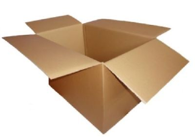 £8.95 • Buy Double Wall Cardboard Strong Boxes Removal Moving Storage CHOOSE SIZE / QTY