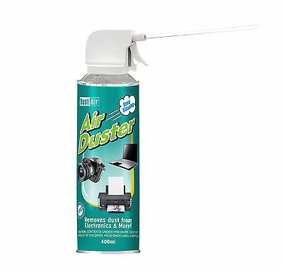 3 X 400ml Compressed Air Duster Cleaner Can Canned Laptop Keyboard Mouse • 12.99£