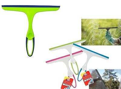 Handheld Window Cleaner Wiper Squeegy Squeegee Car Glass Shower Screen Tile 554 • 2.95£