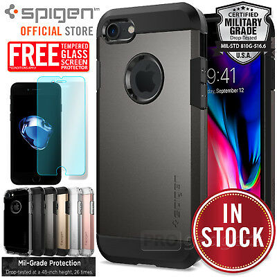 AU29.99 • Buy For Apple IPhone 8 7 6s Plus Case SPIGEN TOUGH ARMOR Shockproof Hard Cover