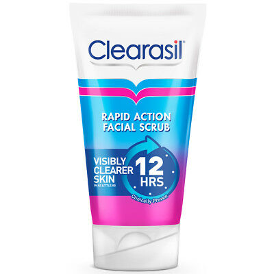 £23.86 • Buy 3x Clearasil Ultra Rapid Action Daily Spot Fighting Face Scrub 125ml