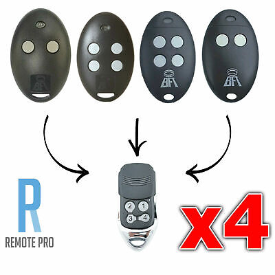 AU44.95 • Buy 4 X To Suit BFT Mitto 2M 4M 12V Compatible Garage/Gate Remote D111751 D111750