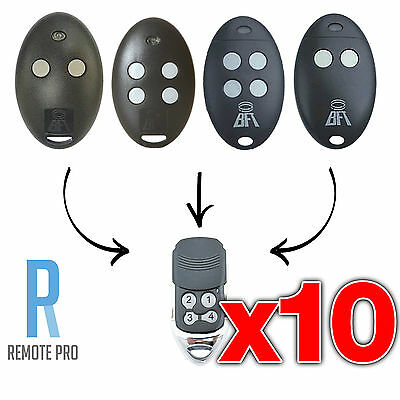 AU99.99 • Buy 10 X To Suit BFT Mitto 2M 4M 12V Compatible Garage/Gate Remote D111751 D111750