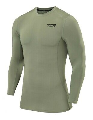 £13.99 • Buy Compression Base Layer TCA Mens & Boys Thermal Long Sleeve Running Gym CrossFit