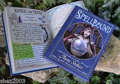 Genuine Spellbound Spell Book By Anne Stokes ~ Ritual ~ Pagan ~ Wicca ~ Altar • 10.99£