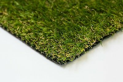 £38 • Buy Artificial Grass Luxury 30mm Astro Garden Realistic Natural Turf Fake Lawn