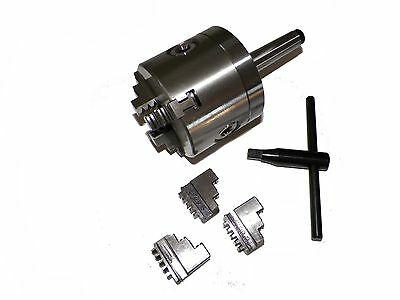 AU208.36 • Buy 3  3 Jaw Precision Lathe Chuck With MT2  Shank (Non-Rotating)