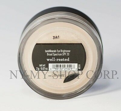 $12.90 • Buy Bareminerals WELL RESTED  Concealer 2g Bare Escentuals Face - XXL - Free Ship