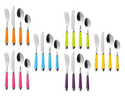 Brasserie Cutlery Set 16Pc In Different Colours Kitchen Accessories Brand New • 21.99£