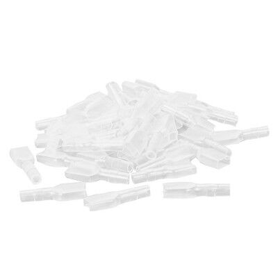 100 X PVC Connector Covers/Insulators For Brass 6.3mm Female Spade Terminals  • 4.25£